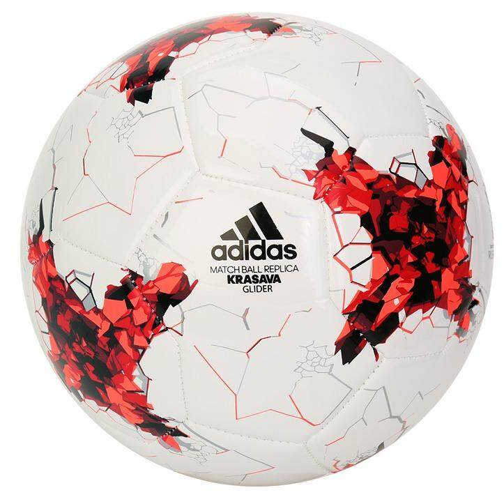 สมุทรสาคร Adidas FIFA Confederation Cup Russia 2017 KRASAVA Glider  Soccer Ball Standard Size No.5 Football (AZ3188)