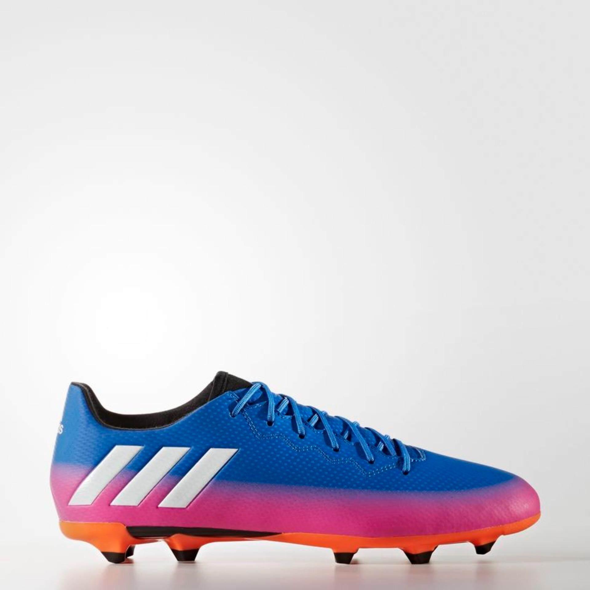 Adidas รองเท้าฟุตบอล Messi 16 3 Fg รุ่นพื้นฐาน Ba9021 เป็นต้นฉบับ