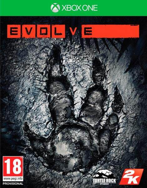 Xbox One แผ่นเกมส์ Xbox One : Evolve By Advance Game.
