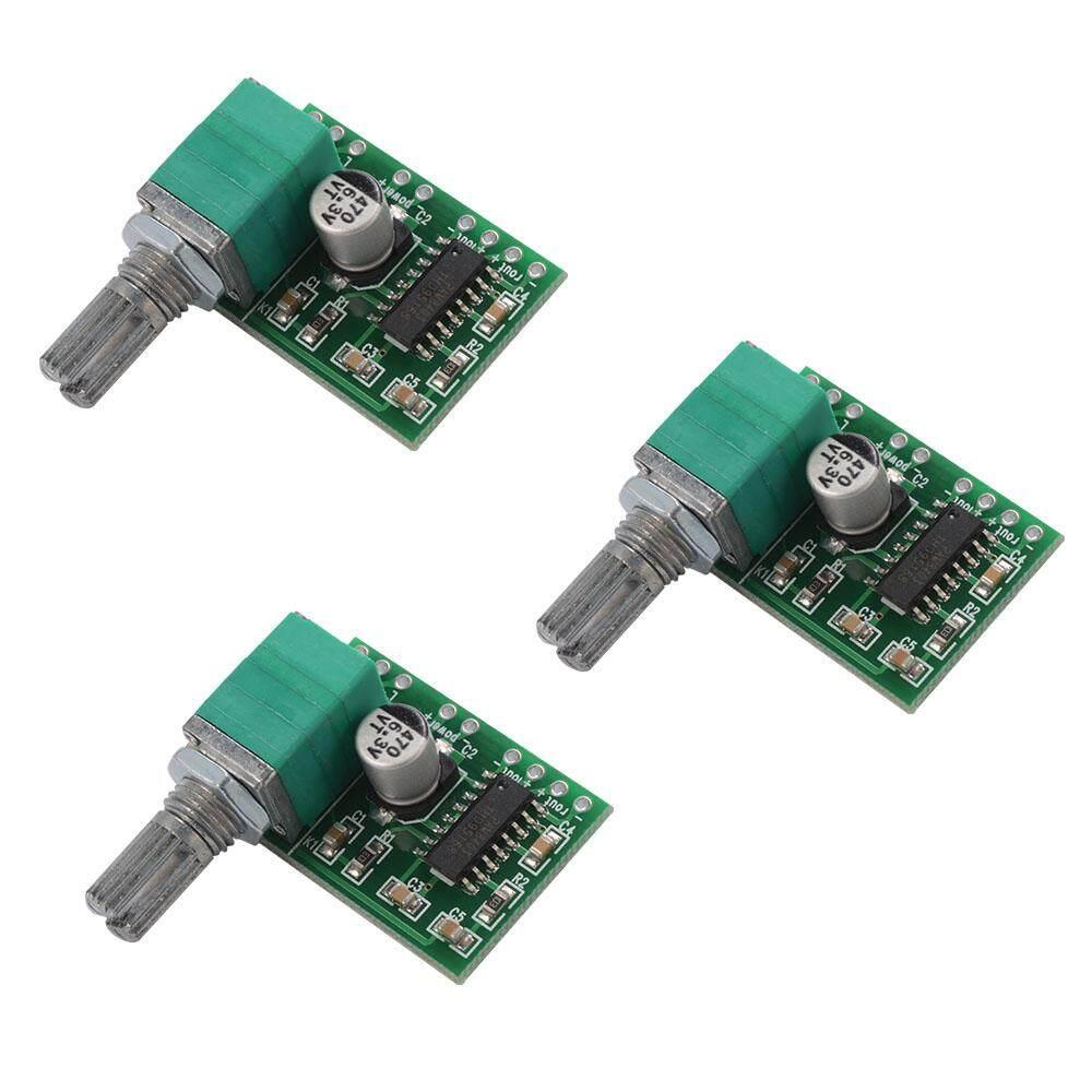 พลาดไม่ได้ บอร์ดปรับระดับเสียง PAM8403 DC 5V 2-CH USB Power