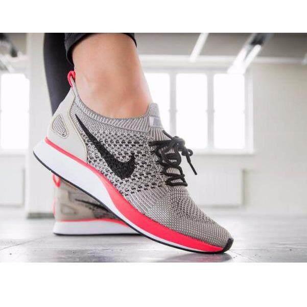 Nike รองเท้ากีฬา ฟิตเนส ออกกำลังกาย ไนกี้ Sport Shoe Air Zoom Mariah Flyknit Racer Beige Pink ยอดนิยม Nike ถูก ใน กรุงเทพมหานคร