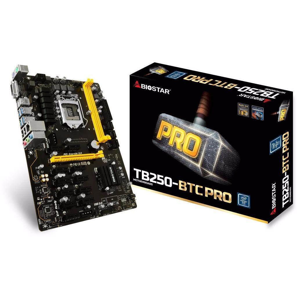 ราคา Biostar Tb250Btc Pro Ddr4 Lga1151 เป็นต้นฉบับ