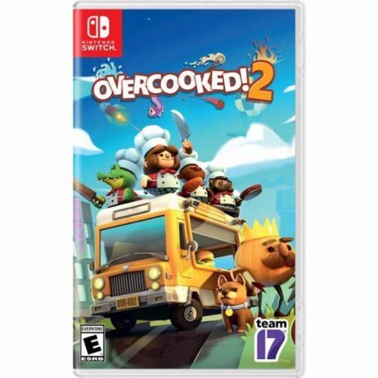 Nintendo Switch Overcooked 2 ( English Zone 1 ).