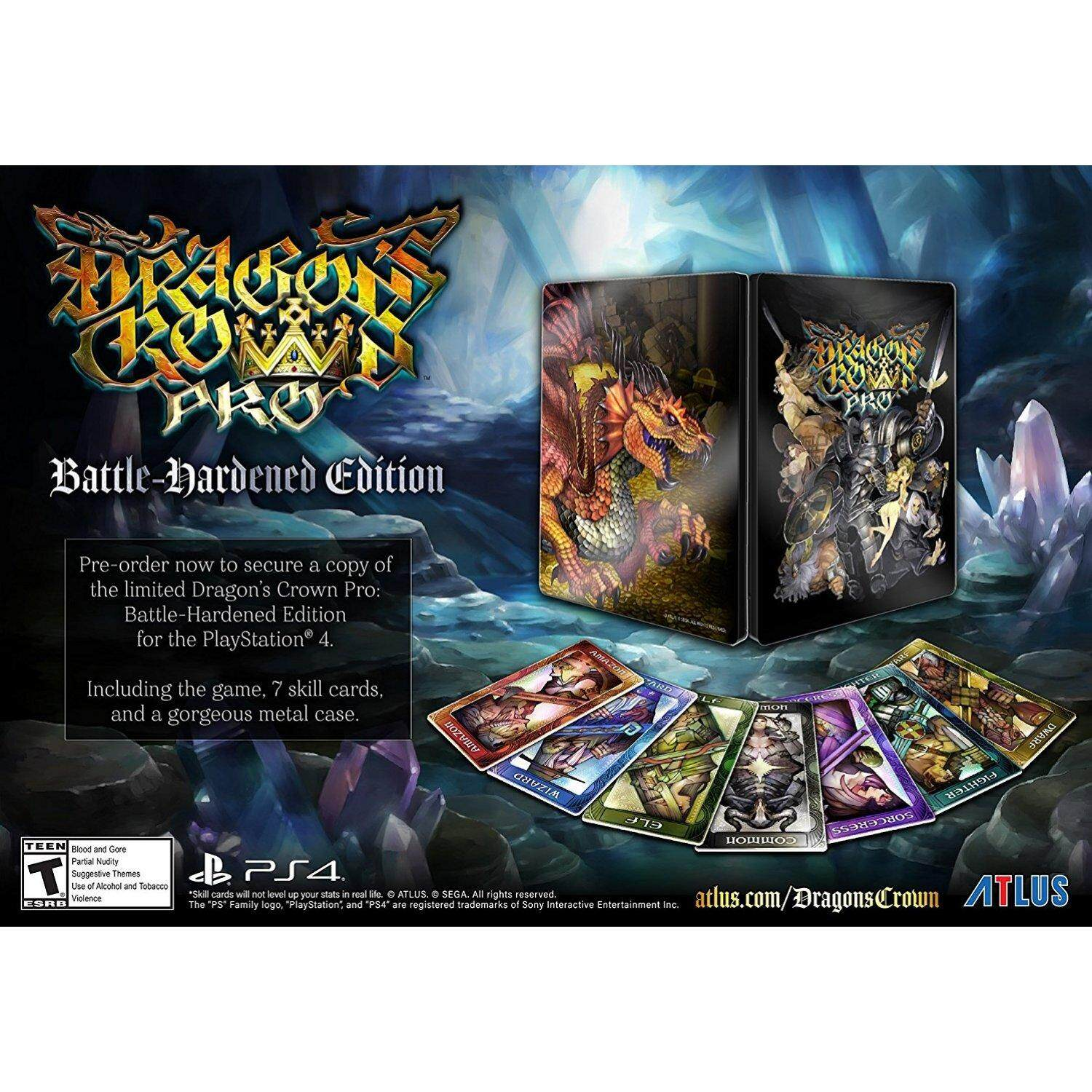 PS4 DRAGON'S CROWN PRO [BATTLE-HARDENED EDITION] (US)