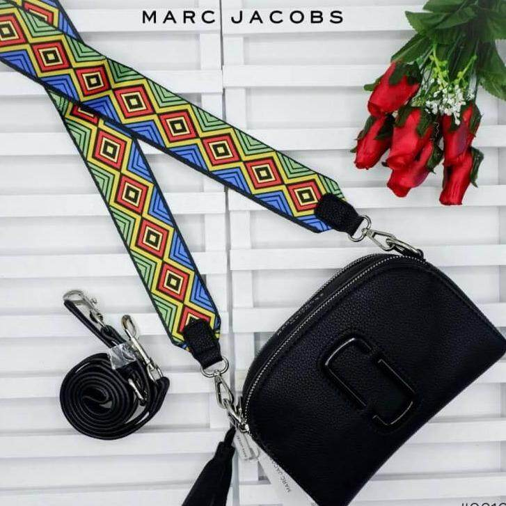 กระเป๋า Marc Jacobs พร้อมสายถักและสายหนัง เป็นต้นฉบับ