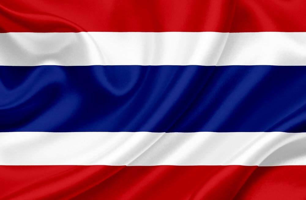 ธงชาติ ไทย ธงไตรรงค์ ขนาด 90 X 150 Cm สำหรับงานประดับตกแต่ง เชียร์กีฬา และใช้งานทุกโอกาส.