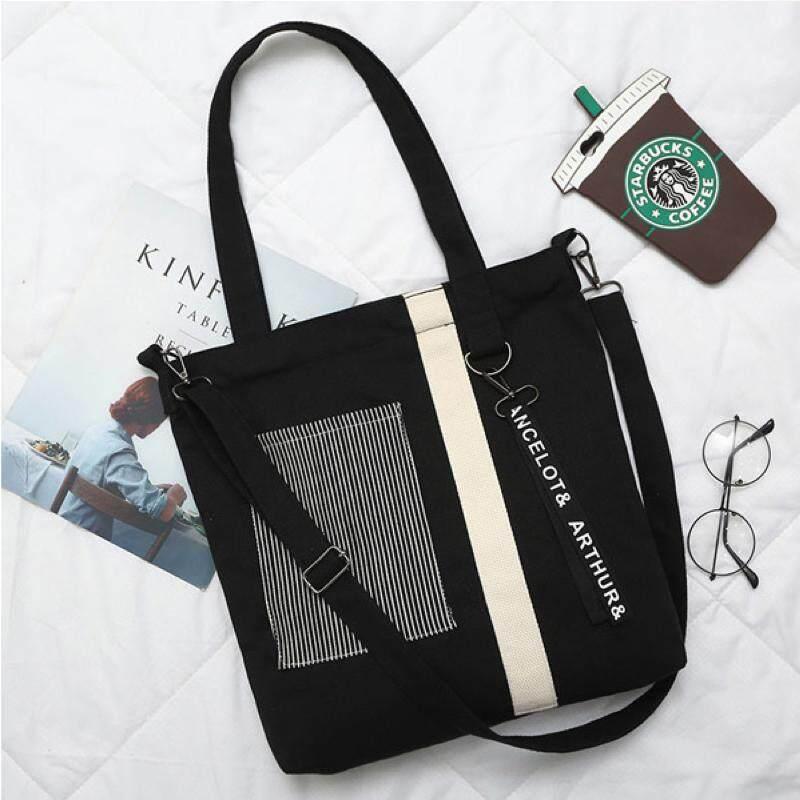 กระเป๋าเป้ นักเรียน ผู้หญิง วัยรุ่น ระนอง พร้อมส่ง4สีให้เลือก กระเป๋าผ้าสะพายข้างKINF  Cc 124