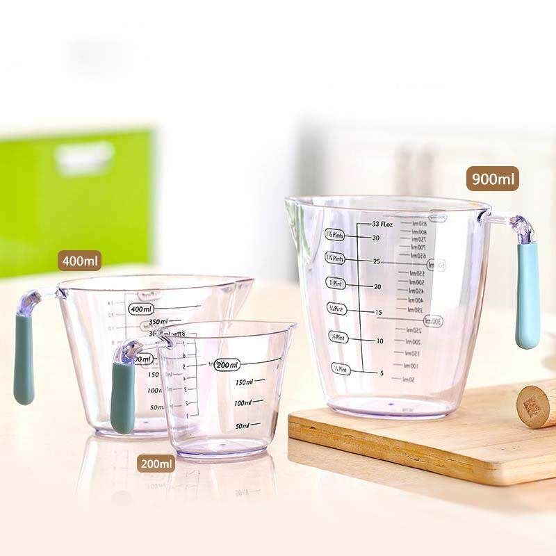 ถ้วยตวงวัด พลาสติก 200/400 / 900ml
