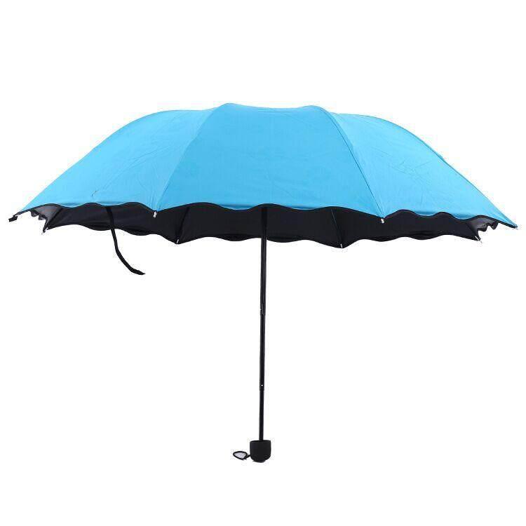 ร่มพับ สีพื้น ขนาดเล็กพกพาสะดวก กันฝน กัน Uv By 3c Shop.