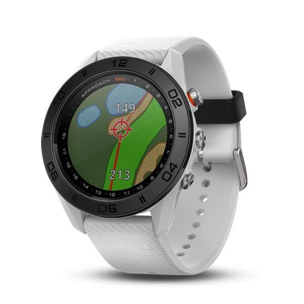 การใช้งาน  ระยอง Garmin Approach S60 White สีขาว นาฬิกากอล์ฟ ประกันศูนย์ไทย 1 ปี
