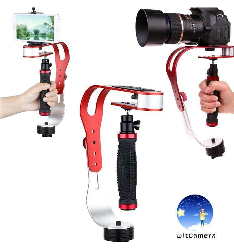 วิดีโอมือถือไม้กันสั่นสำหรับgopro Iphone/samsung/huawei/xiaomi/oppo กล้อง Dv & กล้องวิดีโอที่วางโทรศัพท์ Video Handheld Stabilizer For Gopro Iphone/samsung/huawei/xiaomi/oppo, Dv Camera & Camcorder With Phone Holder.