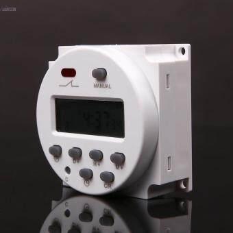 การส่งเสริม 1x 12V Digital Time Switch Electronic Timer LCD