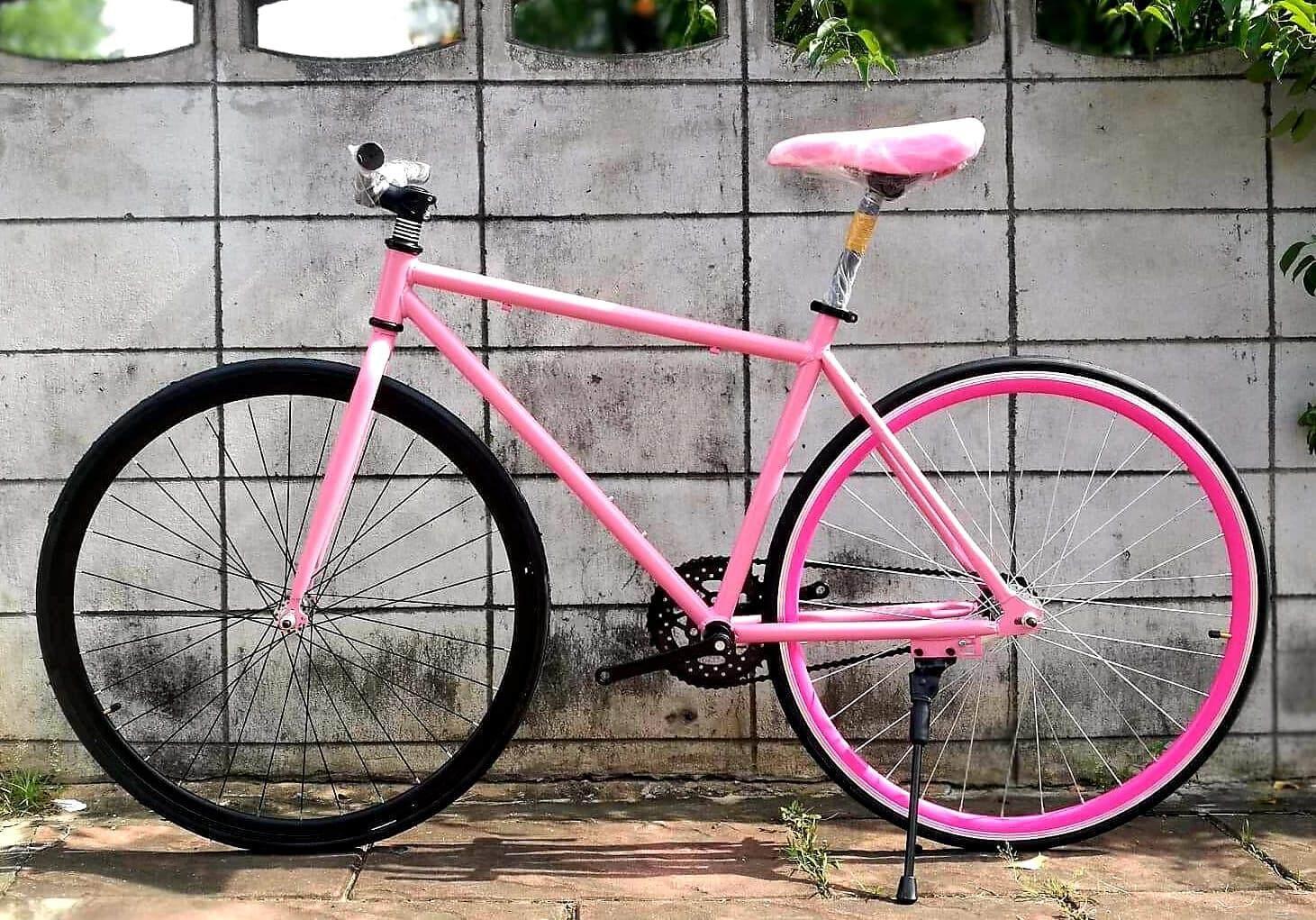 จักรยานฟิกเกียร์ (สอบถามก่อนสั่งซื้อ) By J & A Bike.