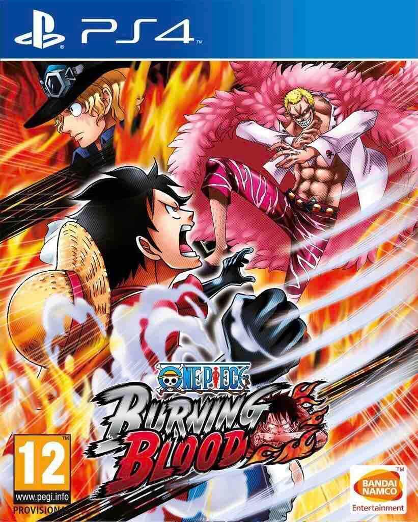 PS4 แผ่นเกมส์ PS4 : One Piece Burning Blood