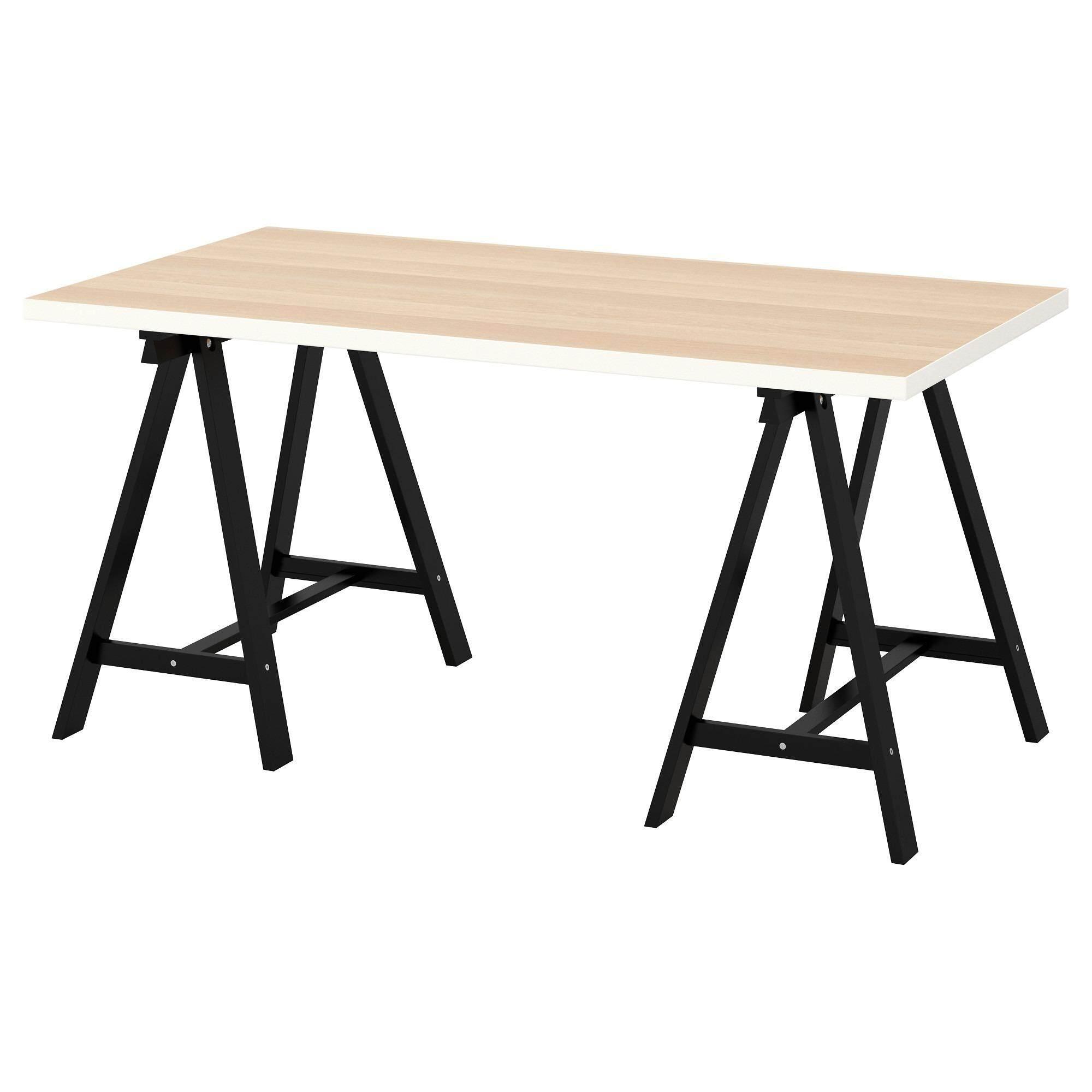 ขาย โต๊ะทำงาน โครงขาไม้สน วัสดุแข็งแรงและมีน้ำหนักเบา 150X75 ซม Alohagiftshop ใน Thailand