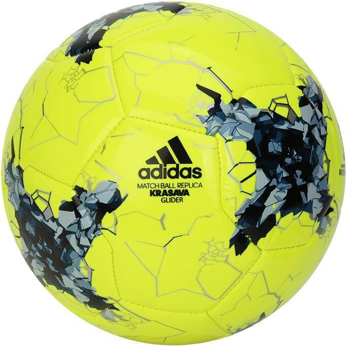 สกลนคร Adidas FIFA Confederation Cup Russia 2017 KRASAVA Glider  Soccer Ball Standard Size No.5 Football (AZ3191)