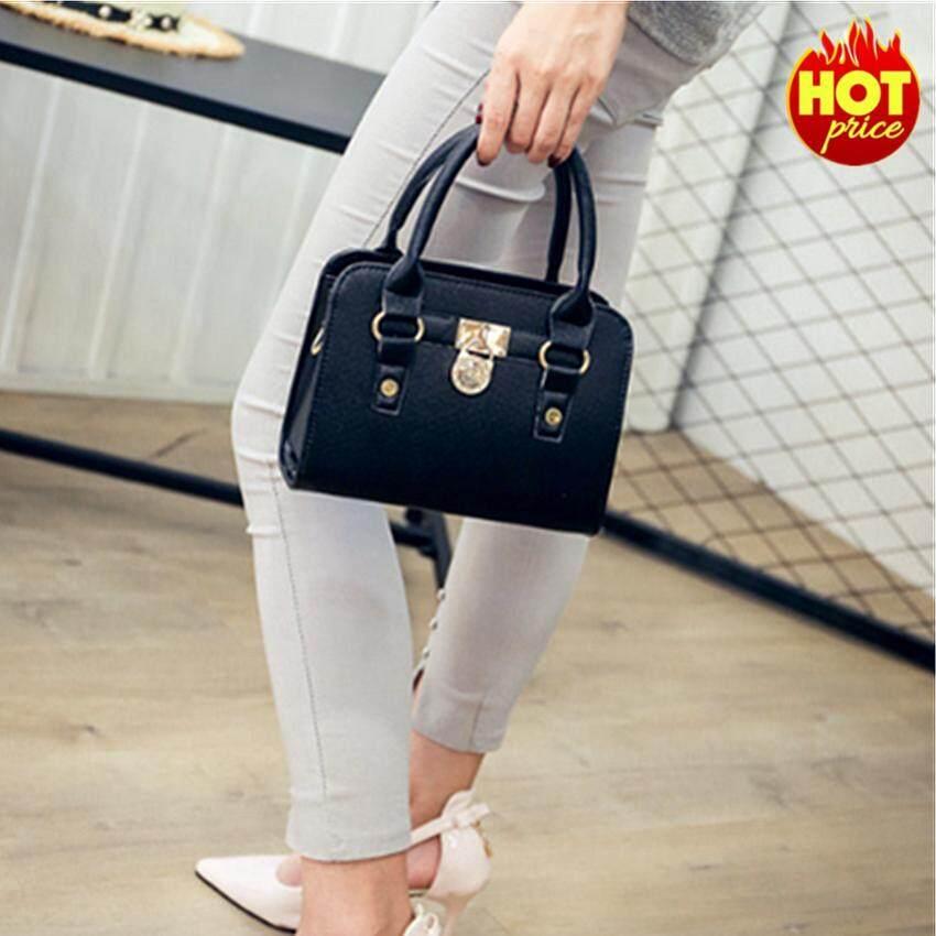 กระเป๋าเป้ นักเรียน ผู้หญิง วัยรุ่น ศรีสะเกษ Fashion Bag Women High Quality Handbag กระเป๋าถือ กระเป๋าสะพายไหล่ กระเป๋าสะพายพาดลำตัว รุ่น No 02219 Black
