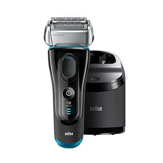 ซื้อ Braun เครื่องโกนหนวดไฟฟ้า รุ่น Series 5 5190Cc Electric Shaver With Clean Charge Station Razor Cordless Shaving System ออนไลน์ ถูก