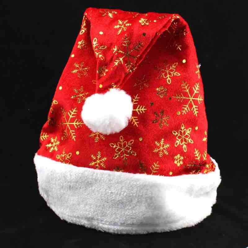 Christmas Party Santa Adult Hat Christmas Ornaments Plush By Beauty Moment Shop.