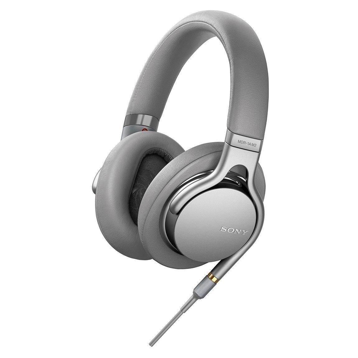 Sony High-Resolution Audio Headphone รุ่น MDR 1AM2 - Silver