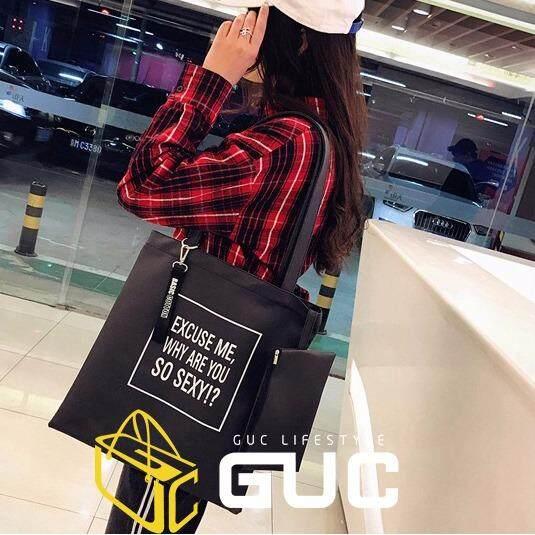 กระเป๋าเป้สะพายหลัง นักเรียน ผู้หญิง วัยรุ่น พัทลุง GUCกระเป๋าสะพายข้างso sexy GUC B247