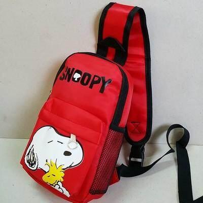 ส่งฟรี kerry!!! ขาย เป้คาดอก เป้เฉียง เป้สะพายเฉียง Sholder bag Snoopy สนู๊ปปี้