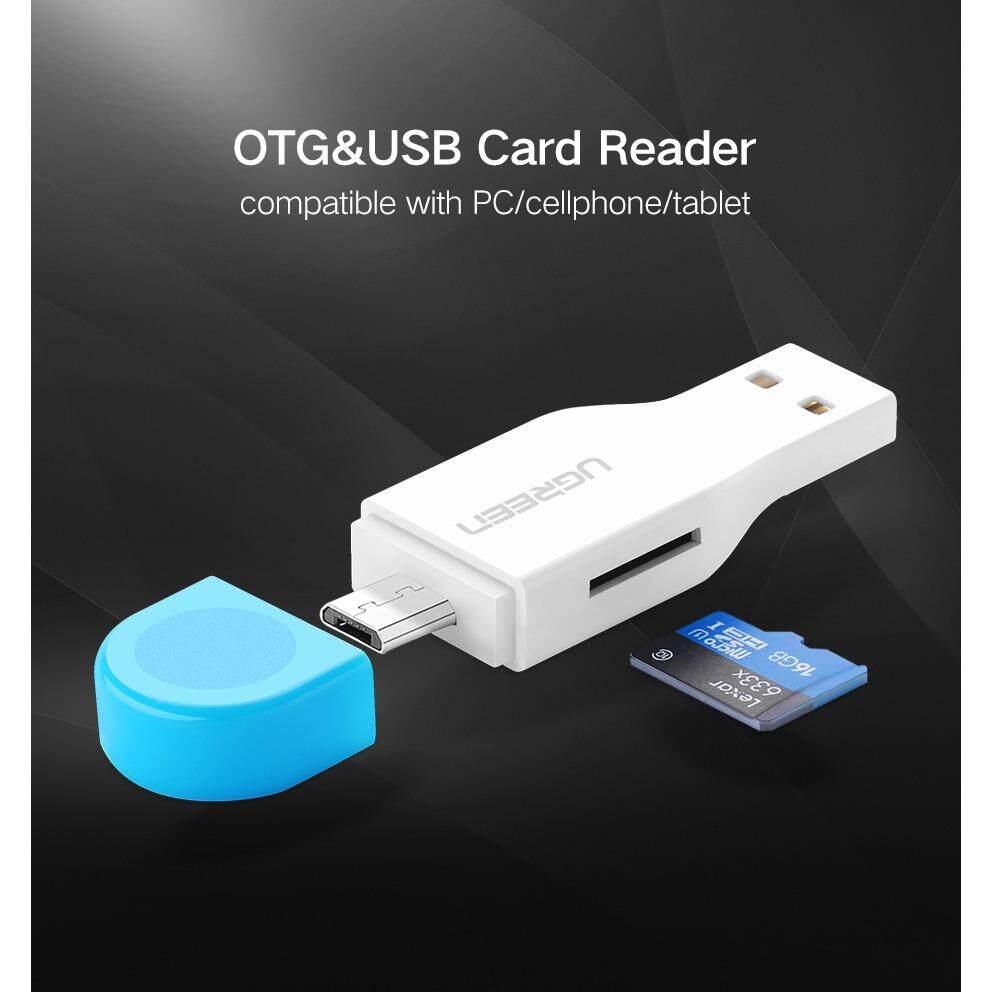 ซื้อ Ugreen 30358 2 In 1 Usb 2 Micro Usb Otg Card Reader ความเร็วสูง 45Mb 1 วินาที สำหรับโอนข้อมูล คอมพิวเตอร์ มือถือ และ แท็บเล็ต ใหม่ล่าสุด