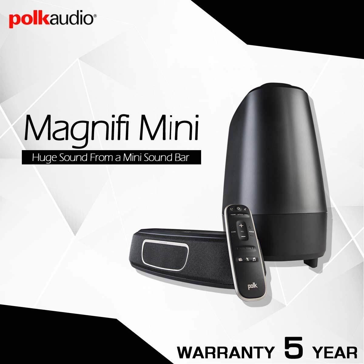 ยี่ห้อนี้ดีไหม  ชัยนาท Polk Audio MagniFi Mini Home Theater Sound Bar System รับประกัน 5ปี ศูนย์ POWER BUY จากผู้นำเข้าอย่างเป็นทางการ