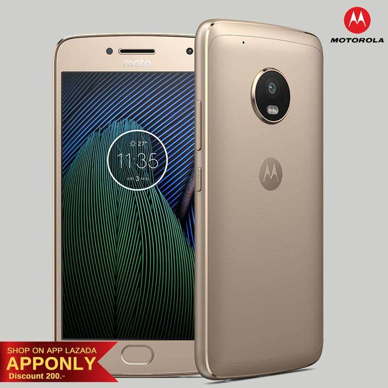 Motorola Moto G5 Plus 5.2นิ้ว 4GB+32GB 4G LTE ประกันศูนย์ไทย 1ปี
