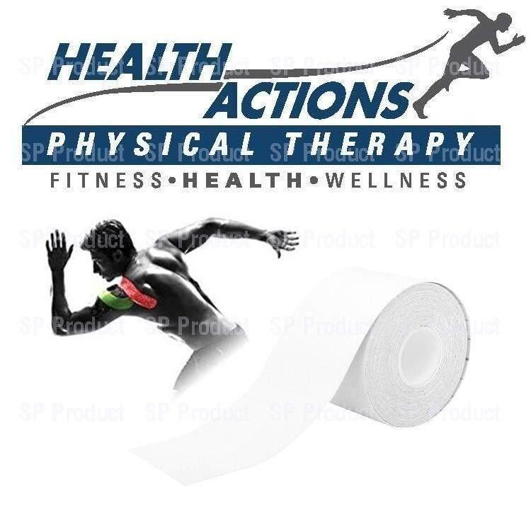 โปรโมชั่น Kinesiology Sports Muscle Tape เทปล็อคกล้ามเนื้อ White Unbranded Generic ใหม่ล่าสุด