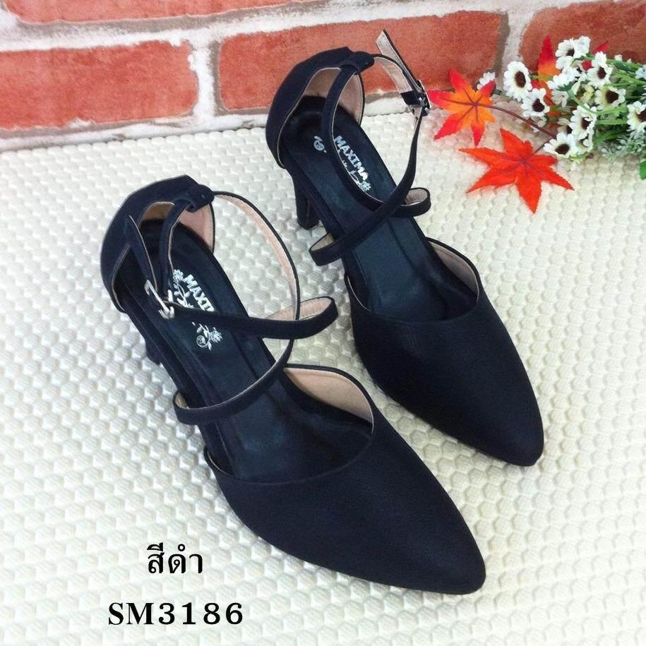 ซื้อ 8Am รองเท้าคัทชูส์แฟชั่น รุ่น Sm3186 สีดำ ใหม่ล่าสุด