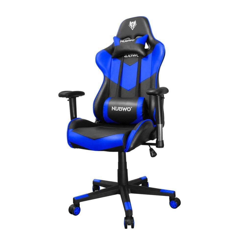 สอนใช้งาน  เก้าอี้เล่นเกมส์ NUBWO E-Sport Gaming Chair Vanguard รุ่น NUB-CH009 - BLUE