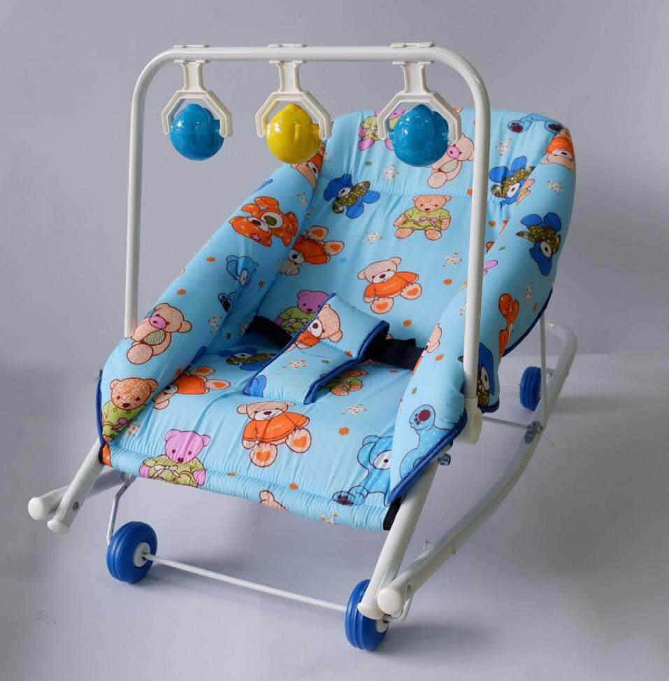 boom boom เปลโยกเด็กอ่อน สำหรับนอนเล่น หรือนอนป้อนข้าว รุ่น J12 มีของเล่น เปล เปลเด็ก เปลโยก เปลนอน