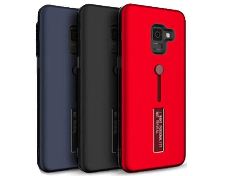ACT เคส  Samsung Galaxy J6 Plus / J6+ / ซัมซุง กาเเล็กซี่ J6 Plus ขนาดจอ 6.0 นิ้ว รุ่น TR series ชนิด ฝาหลัง กันกระแทก  แบบ PC  ตั้ั้้งได้ สีดำ