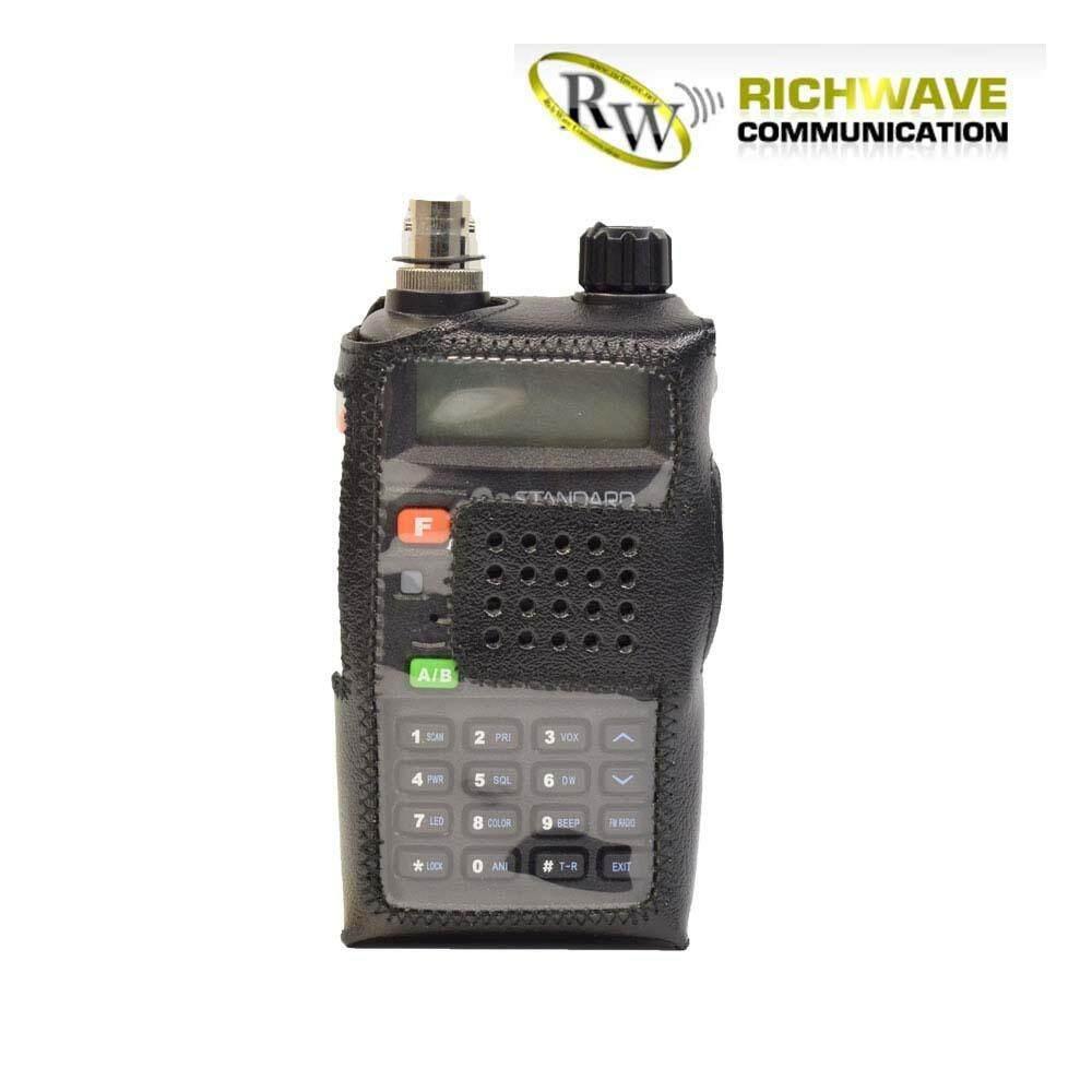 ICOM ซองหนังวิทยุสื่อสาร UV-98 UV-97 IC-V90 (แบบ E320)