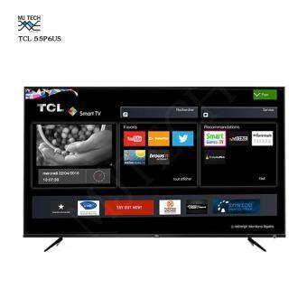 TCL SMART TV 4K LED (2018) 55 นิ้ว รุ่น 55P6US รับประกันศูนย์ 3 ปี