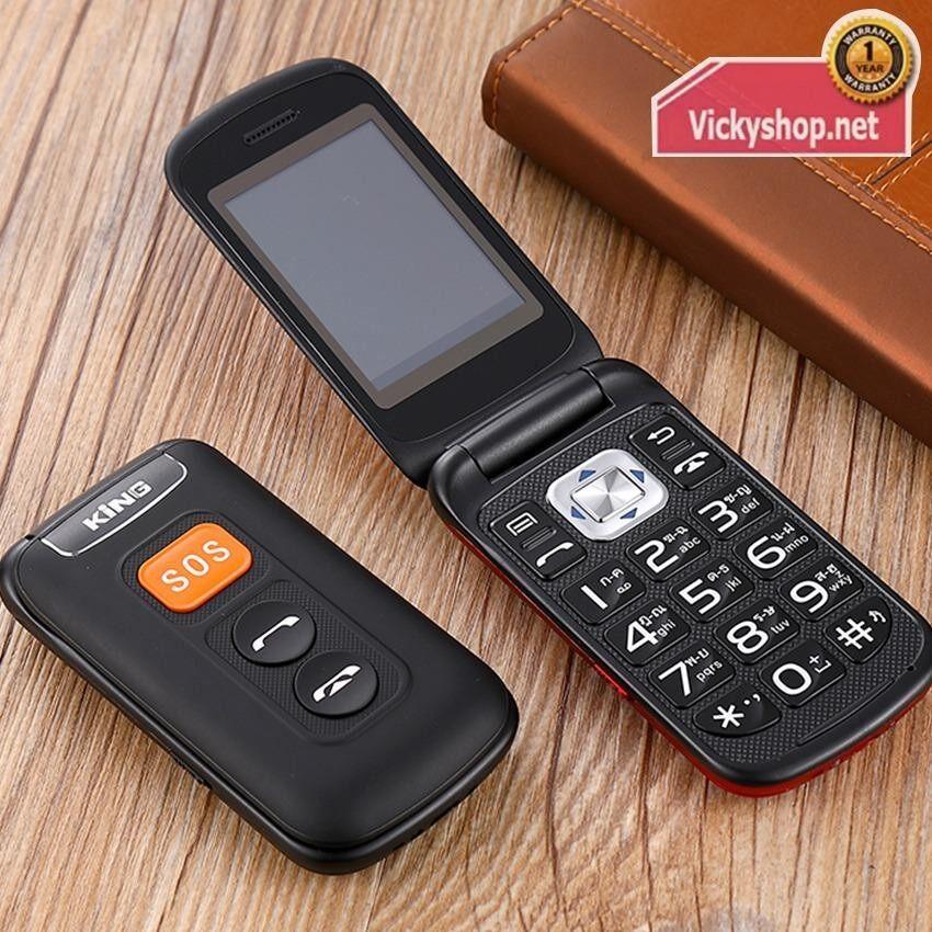 Star T116 - Black โทรศัพท์ มือถือ ฝาพับ ใช้ได้ทุกเครือข่าย 2ซิม 3G แข็งแรงทนทาน