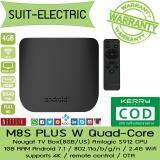 บัตรเครดิต ธนชาต  อุตรดิตถ์ M8S PLUS W Quad-Core Nougat TV Box (8GB/US) Amlogic S912 CPU / 1GB RAM / Android 7.1 / 802.11a/b/g/n / 2.4G Wifi / supports 4K / remote control / OTA