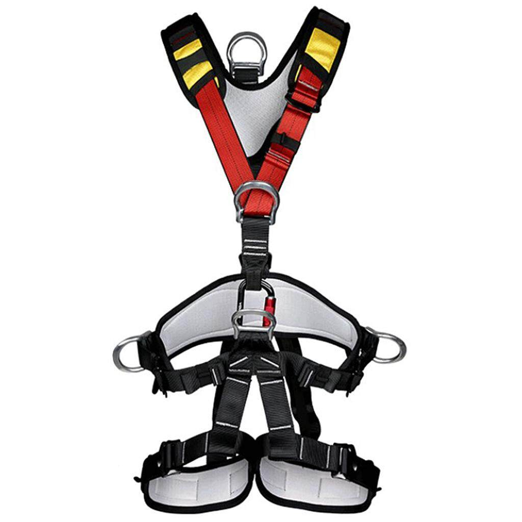 Professional Safety Tree Rock Climbing Belt Rappelling Harness Fall Protection