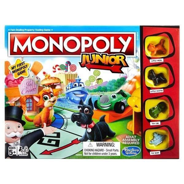 HASBRO ORIGINAL MONOPOLY JUNIOR EDITION เกมส์เศรษฐี