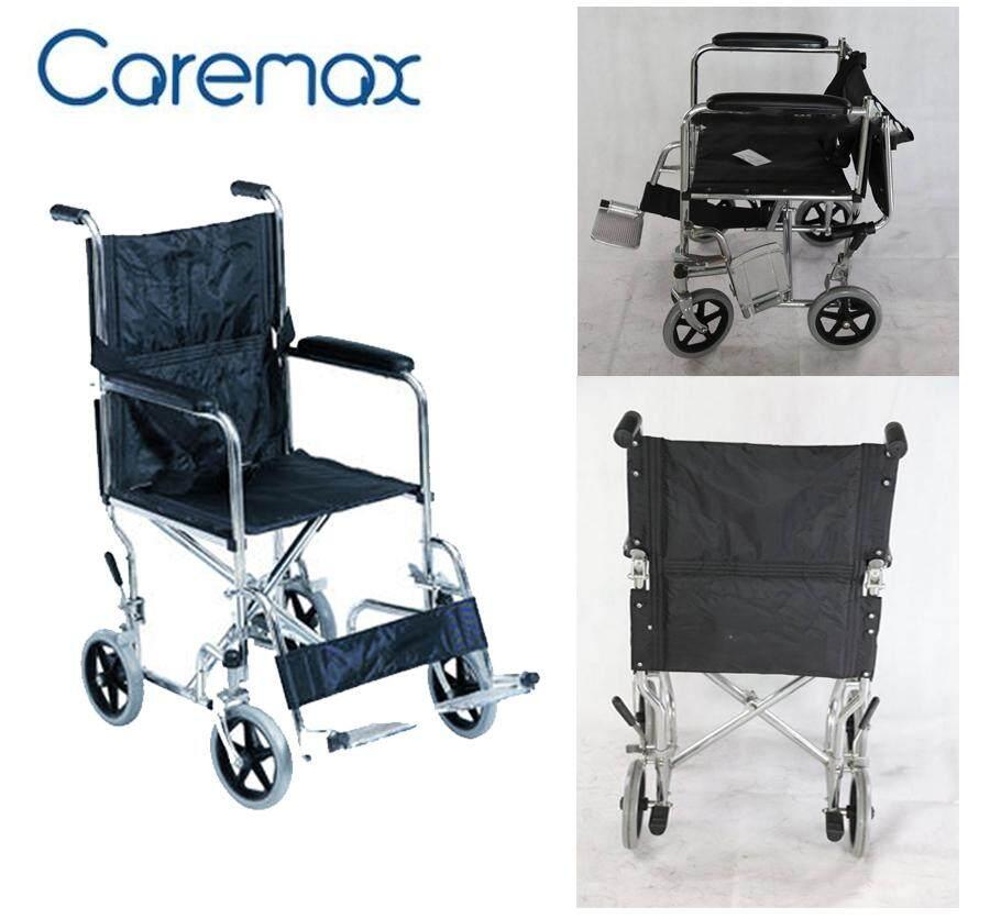 สุดยอดสินค้า!! CAREMAX Wheelchair รถเข็นแบบพกพาเดินทาง CA-951F