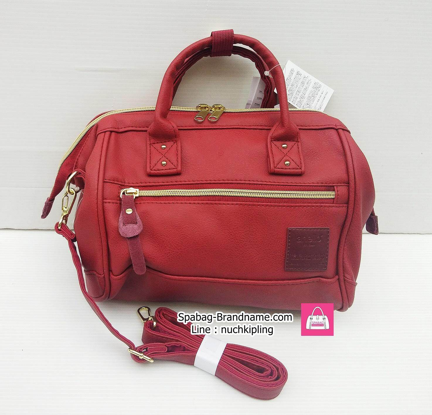 ยี่ห้อไหนดี  นครสวรรค์ กระเป๋าของแท้ Anello Mini 2way Boston Red