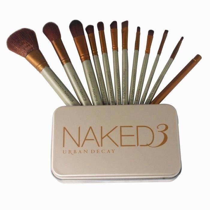 ชุดกล่อง Naked3 แปรงแต่งหน้า 12ชิ้น
