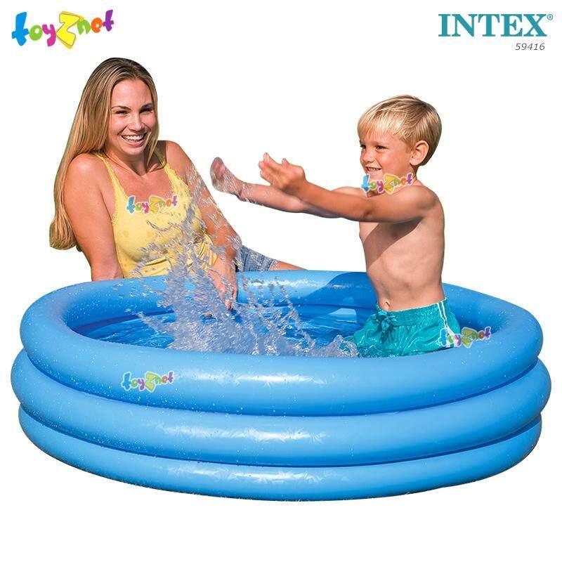 Intex ส่งฟรี สระน้ำ เป่าลม คริสตัล บลู 1.14x0.25 ม. รุ่น 59416 By Suriyong Trading Ltd., Part..