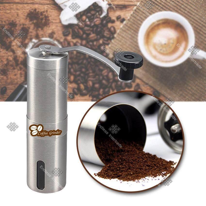 ขาย Omg เครื่องบดกาแฟแบบพกพา เครื่องบดกาแฟมือหมุนสแตนเลส Stainless Steel Burr Coffee Grinder Manual รุ่น Mcg1 Fi ไทย
