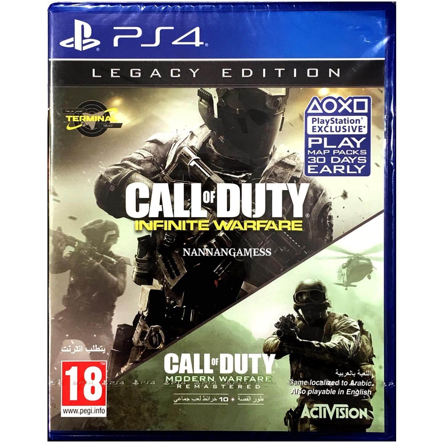 PS4 Call of Duty Infinite Warfare Legacy Edition ( Zone 2 )( English )