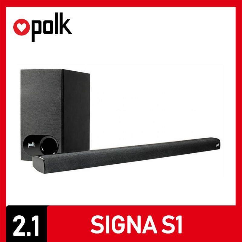 เชียงราย Polk Audio ลำโพงซาวด์บาร์ Soundbar รุ่น Signa S1 ระบบเสียง 2.1 CH ประกันศูนย์