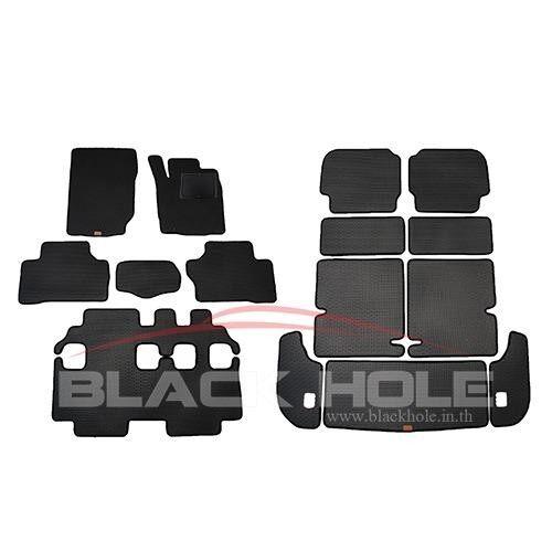 ขาย Blackhole Carmat พรมรถยนต์เข้ารูป 2 ชั้น ขอบลายใหม่ Mitsubishi Pajero ปี 2015 รุ่น ปัจจุบัน Full Option Black Rubber Pad รุ่น Nfjmipazbr Tf สีดำ ถูก ใน กรุงเทพมหานคร