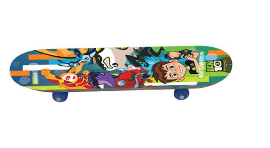สเก็ตบอร์ด กีฬาสเก็ตบอร์ด Skateboard Ben 10 By Toys Mart Shop.