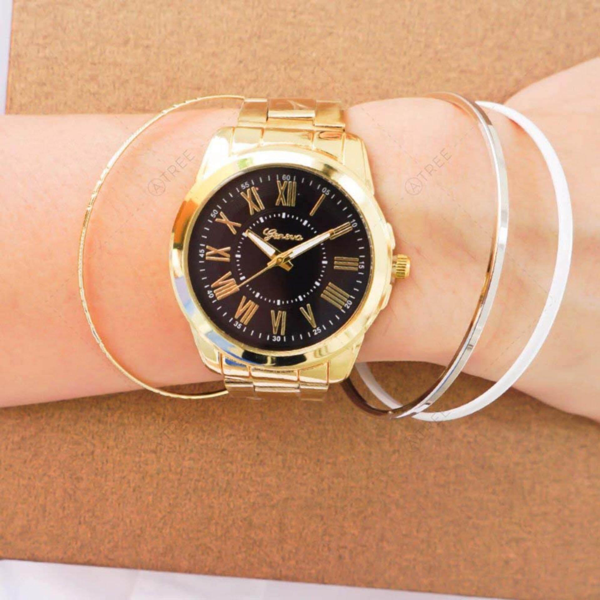 Zazzy Dolls แพ็คคู่ นาฬิกาพร้อมกำไลข้อมือ ซื้อ 1 แถม 1 รุ่น Zd 0114 4 สีสุดน่ารักฟรีกำไลข้อมือ สไตล์เกาหลี คละแบบ กรุงเทพมหานคร